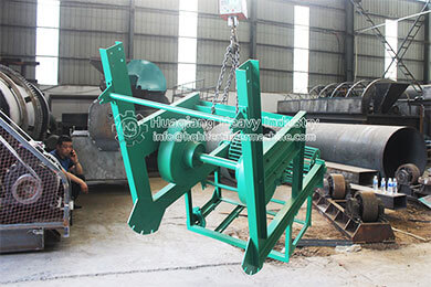 Large-angle Belt Conveyor for Fertilizer equipment in Malaysia