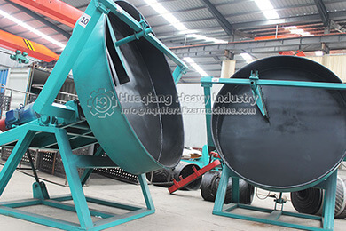 Nigeria disc granulation production line for delivery