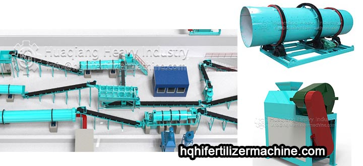 Two kinds of granulation equipment of compound fertilizer granulation equipment