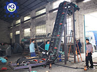 Big-angle Belt Conveyor